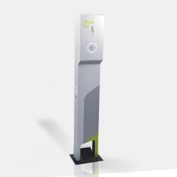 Totem com Dispensador para �lcool Gel