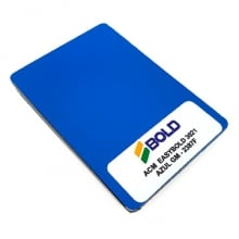 CHAPA DE ACM AZUL GM FOSCO - 1500X5000X3MM-118D