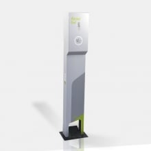 Totem com Dispensador para Álcool Gel