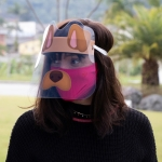 FACE SHIELD ADULTO MODELO CACHORRINHO